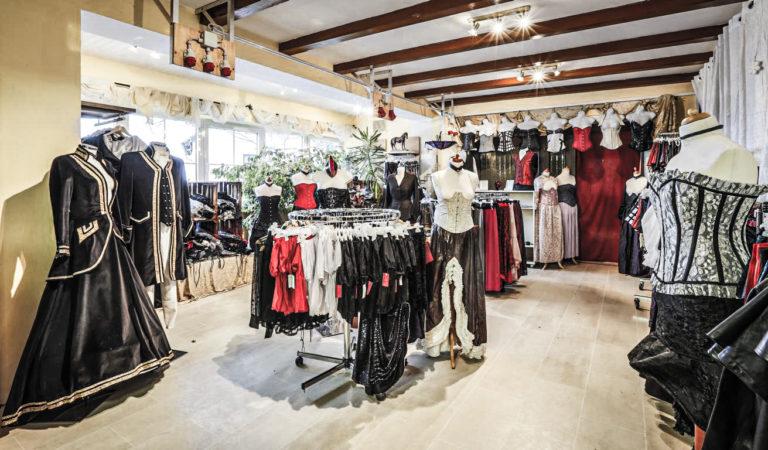 carnificium Boutique, Ladengeschäft exklusive Korsetts, Maßanfertigung