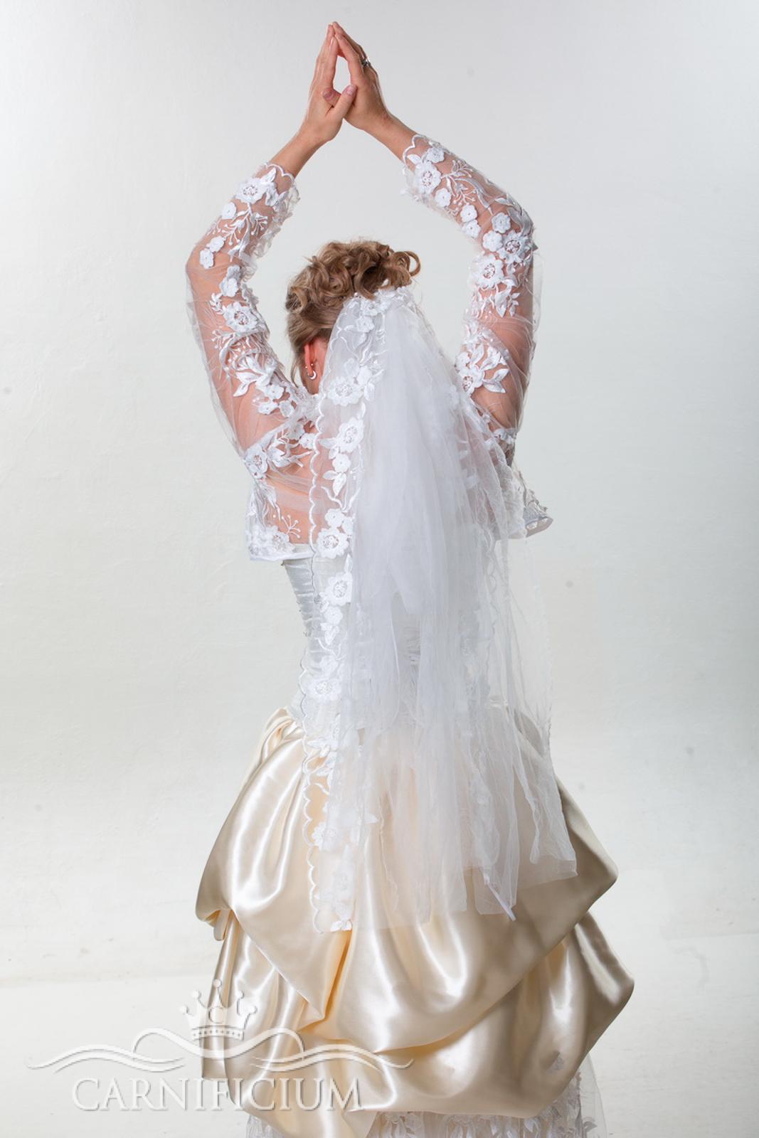 Schleier Hochzeitskleid